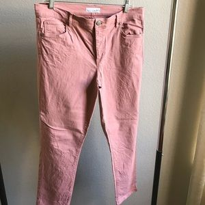 Cute pink jeans